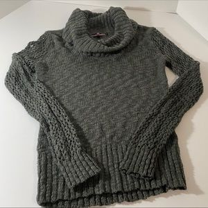 Almost Famous Cowl Neck Knit Sweater